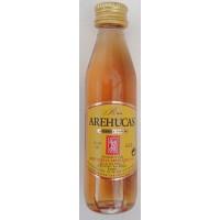 Arehucas - Ron Carta Oro brauner Rum 37,5% Vol. 50ml PET-Miniaturflasche hergestellt auf Gran Canaria