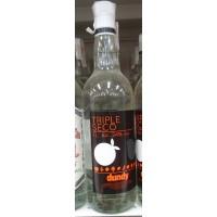 Artemi - Dundy Triple Seco Licor de Naranja Orangen-Likör 24% Vol. 1l hergestellt auf Gran Canaria