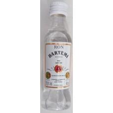 Artemi - Ron Bartemi Blanco weißer Rum 37,5% Vol. 40ml PET-Miniaturflasche hergestellt auf Gran Canaria - LAGERWARE