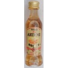 Artemi - Ron Artemi Oro brauner Rum 37,5% Vol. 40ml PET-Miniaturflasche hergestellt auf Gran Canaria - LAGERWARE