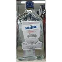 Guajiro - Ron Blanco Cristal weißer Rum 37,5% Vol. 350ml Glasflasche hergestellt auf Teneriffa