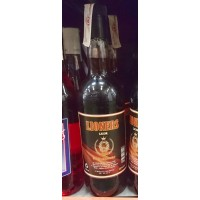 Lioners Licor Vodka Caramelo Wodka-Karamell-Likör 15% Vol. 1l Glasflasche hergestellt auf Gran Canaria