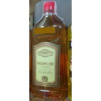 Pedro III El Grande Brandy Weinbrand 1l PET-Flasche hergestellt auf Gran Canaria