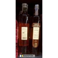 Perla - Ron & Caramelo Licor Karamell-Likör 20% Vol. 700ml Glasflasche hergestellt auf Teneriffa