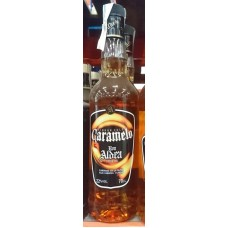 Ron Aldea - Liquor Cold Caramelo Karamell-Likör 22% Vol. 700ml hergestellt auf La Palma