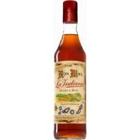 Ron La Indiana - Ron Miel Honey & Rum Honigrum Licor Islas Canarias 1l 37,5% Vol. hergestellt auf Gran Canaria