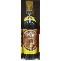 Ron del Telde - Ron Dorado Fass-Logo brauner Rum 37,5% Vol. 1l hergestellt auf Gran Canaria