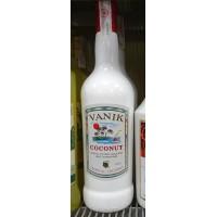 Vanik - Coconut Licor de Coco Kokoslikör 20% Vol. 1l hergestellt auf Gran Canaria