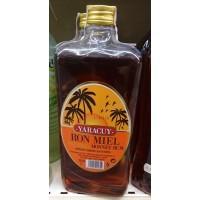 Yaracuy - Ronmiel Ron Miel Honigrum 20% Vol. 1l eckige PET-Flasche hergestellt auf Gran Canaria
