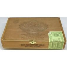 Condal Caja Num. 4 25 kanarische Zigarren in Holzschatulle hergestellt auf Gran Canaria