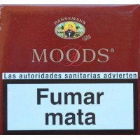 Dannemann - Moods Puritos 5x20 Stück kanarische Cigarillos ohne Filter hergestellt auf Gran Canaria