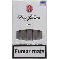 Don Julian No 1 kanarische Zigarren 5 Stück hergestellt auf Gran Canaria