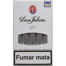 Don Julian No 1 kanarische Zigarren 5 Stück hergestellt auf Gran Canaria - LAGERWARE