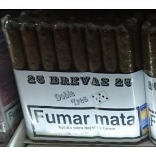 Doble Tres Brevas 25 Puros Zigarren 25 Stück hergestellt auf Gran Canaria