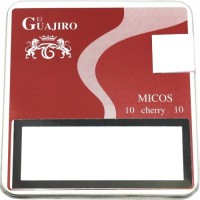 El Guajiro - Micos Cherry 10 Zigarillos Metallschachtel hergestellt auf Teneriffa