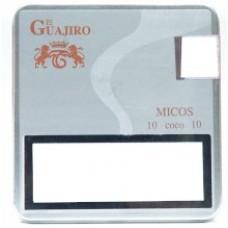 El Guajiro - Micos Coco 10 Zigarillos Metallschachtel hergestellt auf Teneriffa