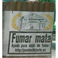 El Olimpo - Senoritas 25 Puros Zigarren 25 Stück hergestellt auf Gran Canaria