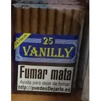 Flor de Canarias - Vanilly 25 Zigarillos Vanille-Aroma hergestellt auf Teneriffa