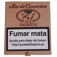 Flor de Canarias - 25+5 Palmitas Zigarillos hergestellt auf Teneriffa