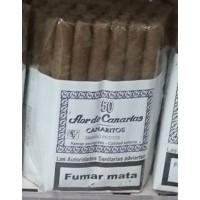 Flor de Canarias - Canaritos Tamano Petitos 50 Zigarillos hergestellt auf Teneriffa