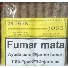 La Rica Hoja - Don Jose 25 Zigarren Islas Canarias hergestellt auf La Palma