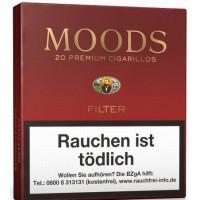 Dannemann - Moods Filter Puritos kanarische Zigarillos 5 Stück hergestellt auf Gran Canaria