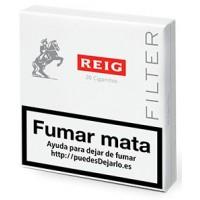 REIG - Filter 20 Cigarritos Zigaretten Schachtel von Gran Canaria