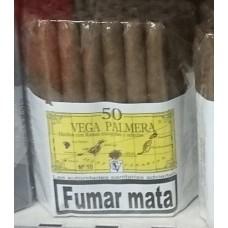 Vega Palmera - No.10 Amarillo Puros Palmeros 50 Stück Zigarillos von Teneriffa