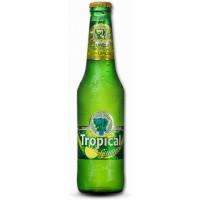 Tropical Limon Bier Radler 2,6% Vol. 250ml Glasflasche hergestellt auf Gran Canaria