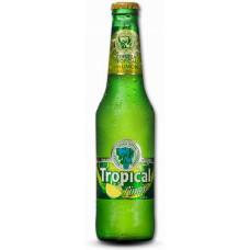 Tropical Limon Bier Radler 2,6% Vol. 250ml Glasflasche 4er-Pack hergestellt auf Gran Canaria - LAGERWARE