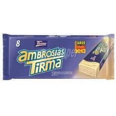 Tirma - Ambrosias Blanco white Chocolate weiße Schokolade 8 Stück 172g hergestellt auf Gran Canaria