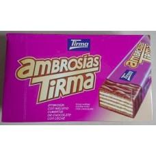 Tirma - Ambrosias Tradicional Chocolate 21 Stück hergestellt auf Gran Canaria