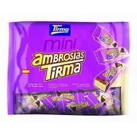 Tirma - Mini Ambrosias Tradicional Chocolate 40 Riegel hergestellt auf Gran Canaria