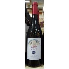 1861 Vino Tinto Roble Rotwein trocken Eichenholzfass 13,5% Vol. 750ml hergestellt auf Teneriffa
