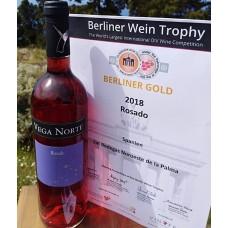 Bodegas Noroeste - Vega Norte Vino Rosado Roséwein 750ml 14,5% Vol. hergestellt auf La Palma