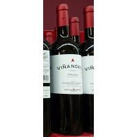 Viña Norte - Vino Tinto Joven Rotwein halbtrocken 13,5% Vol. 750ml hergestellt auf Teneriffa