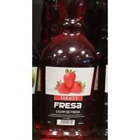 Yaracuy - Fresa Liquor de Fresa Erdbeer-Likör 18% Vol. 700ml hergestellt auf Gran Canaria