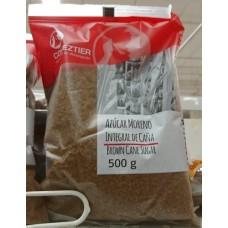 Comeztier - Azucar Moreno Integral de Cana Rohrzucker braun 500g hergestellt auf Teneriffa - LAGERWARE