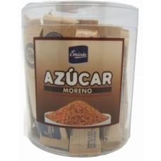 Emicela - Azucar Moreno de Cana Brauner Rohrzucker 40x10g Portionen hergestellt auf Gran Canaria