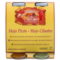 Argodey Fortaleza - Set Mojo Picon & Mojo Cilantro 2x 250ml Flasche hergestellt auf Teneriffa - LAGERWARE MHD: 28.02.2021