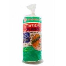Comeztier - Tortitas de Arroz sin sal Reiswaffeln salzfrei 130g hergestellt auf Teneriffa