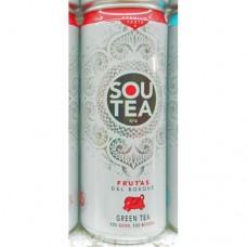 Firgas - Sou Tea No4 Frutas Del Bosque Green Tea Dose 330ml hergestellt auf Gran Canaria