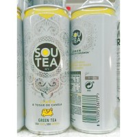 Firgas - Sou Tea No1 Limon Toque de Canela Green Tea Dose 330ml hergestellt auf Gran Canaria