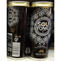 Firgas - Sou Tonic Water No1 Exotic Indian Gold Dose 330ml hergestellt auf Gran Canaria