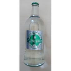 Fuenteror - Agua con gas Mineralwasser mit Kohlensäure 500ml x20 Glasflasche Kronkorken Kasten hergestellt auf Gran Canaria