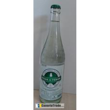 Fuenteror - Agua con gas Mineralwasser mit Kohlensäure 750ml Glasflasche Kronkorken hergestellt auf Gran Canaria