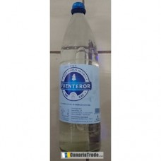Fuenteror - Agua sin gas Mineralwasser still 1l Glasflasche Schraubverschluß hergestellt auf Gran Canaria