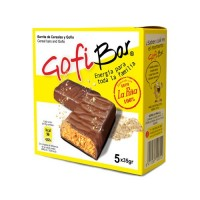 GofiBar - Cereales y Gofio Energia para toda la familia Müsliriegel mit Gofio 5x35g hergestellt auf Gran Canaria