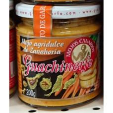 Guachinerfe - Mojo Agridulce de Zanahoria Karotten-Mojo 235ml/200g hergestellt auf Teneriffa