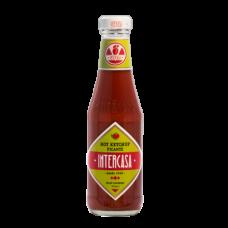 Intercasa - Hot Ketchup Picante Flasche 320g hergestellt auf Gran Canaria - LAGERWARE